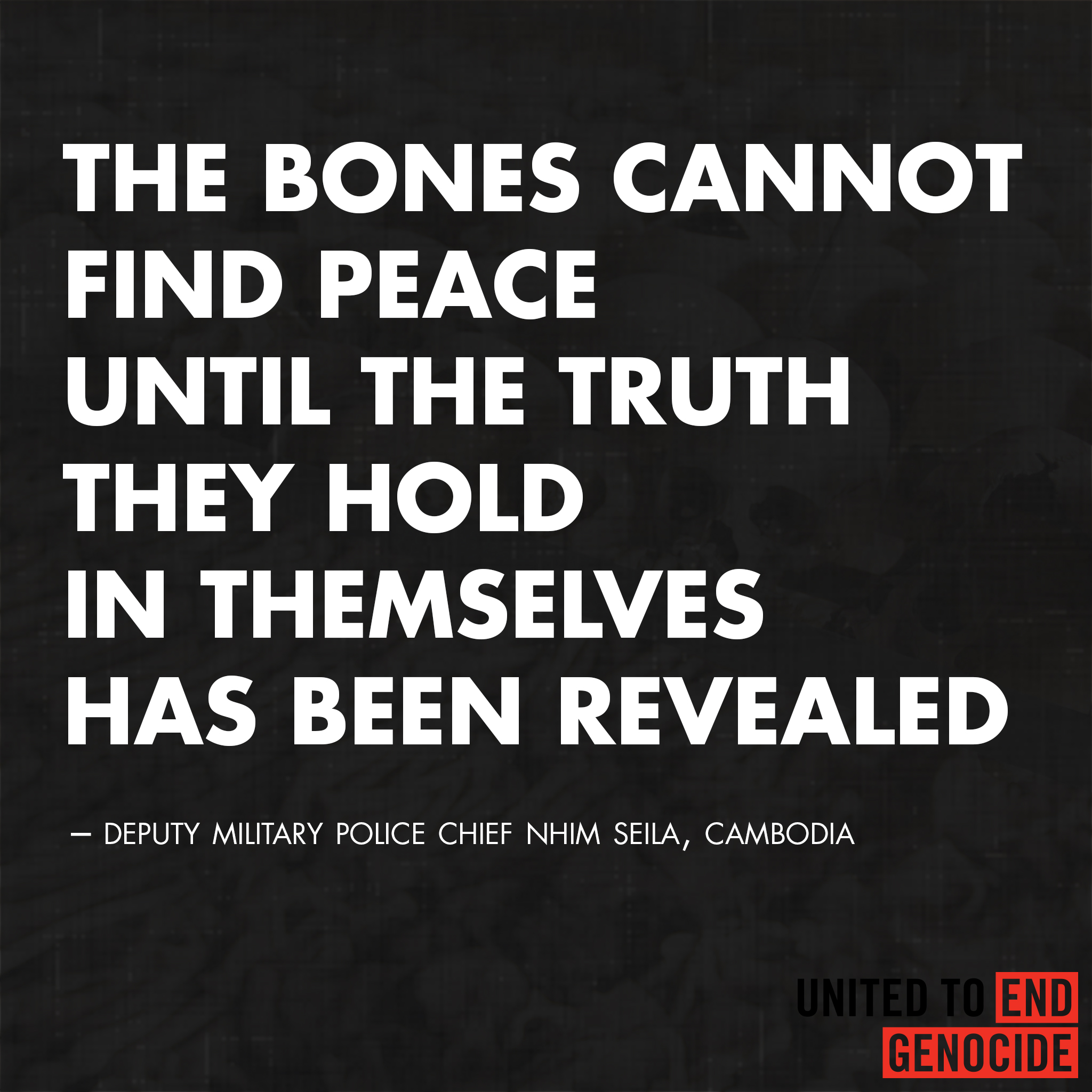 Pol Pot Quotes: Genocide Gallery
